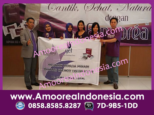 recognisi level bronze distributor demo produk sabun amoorea surabaya